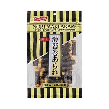 SHIRAKIKU Japanese Traditional Seaweed Rice Cracker 85g
