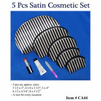 Cidron CA44 Satin Cosmetic Set - 5 Piece