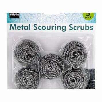 Metal Scouring Pads Set, Pack of 12