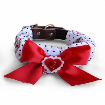 Tail Trends Red Heart Collar Cozy