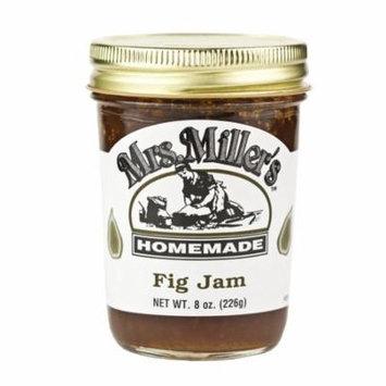 Mrs. Miller's Fig Jam 8 oz. (3 Jars)