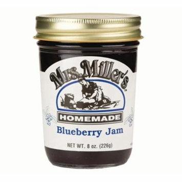 Mrs. Miller's Blueberry Jam 8 oz. (3 Jars)