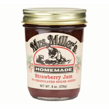 Mrs. Miller's No Sugar Strawberry Jam 8 oz. (3 Jars)