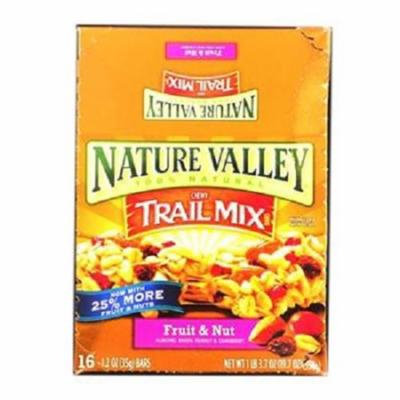 Nat Vly Chwy Bar Fruit & Nut 16Ct - Pack Of 16