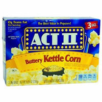 Act Ii Mw Popcorn 3Pk Butr Ktl Corn - 1 count only