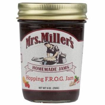 Mrs. Millers Hopping F.R.O.G. Fig, Raspberry, Orange, Ginger, Jalapeno Jam 9 oz. (2 Jars)