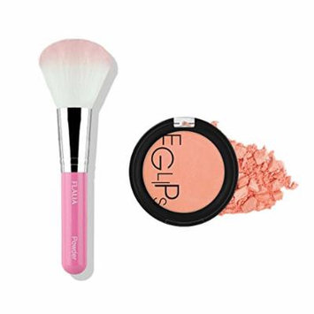 Eglipse Apple Fit Blusher and Flalia Premium Modern Brush SET Sweet Peach + Pink Brush