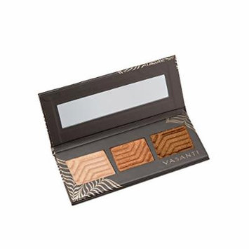 Vasanti Synchronicity Eyeshadow Trio Kit – Includes three rich metallic shades, a super soft eyeshadow brush, and glamorous false lashes. A match made in heaven (Inevitable)