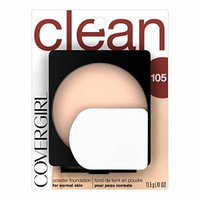 CoverGirl Simply Powder Foundation Ivory(N) 505, 0.41-Ounce Compact by COVERGIRL