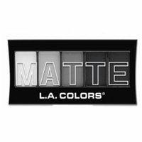 (6 Pack) L.A. Colors Matte Eyeshadow Black Lace