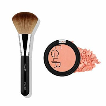 Eglipse Apple Fit Blusher and Flalia Premium Modern Brush SET Sweet Peach + Classic Brush