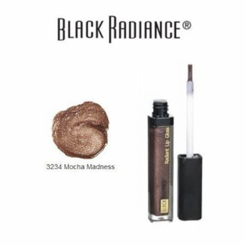 Black Radiance Radiant Lip Gloss 3234 Mocha Madness by Black Radiance