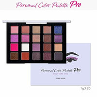 EtudeHouse Personal Color Palette Pro 20g / Powder Room awarded item (Cool Tone)
