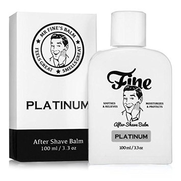 Fine Accoutrements Platinum Alcohol-Free After Shave Balm, Soothes and Relieves, Moisturizes and Protects with Chamomile Witch Hazel Vitamin E and...