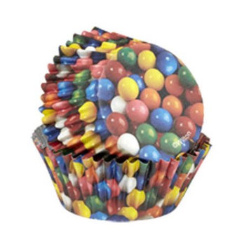 Wilton Gumballs ColorCups Standard Baking Cups, 36 Ct.