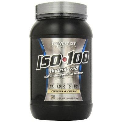 Dymatize ISO-100 Cookies & Cream -- 1.6 lbs