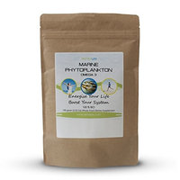 Marine Phytoplankton Superfood Powder 50 grams (1.8 Oz) + FREE 10 grams (0.35 Oz) - Epa, Antioxidants & Minerals - Natural Superfood Nutritional Supplement with Omega 3 Fatty Acids