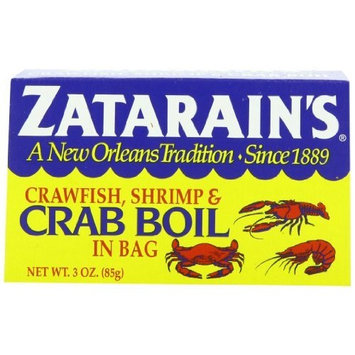 Zatarain's Dry Crawfish, Shrimp and Crab Boil, 3 oz (Pack of 12)