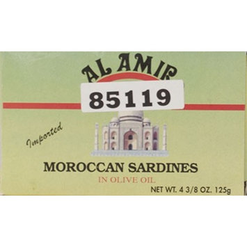 Al Amir Sardines in Olive Oil, 4.37 oz