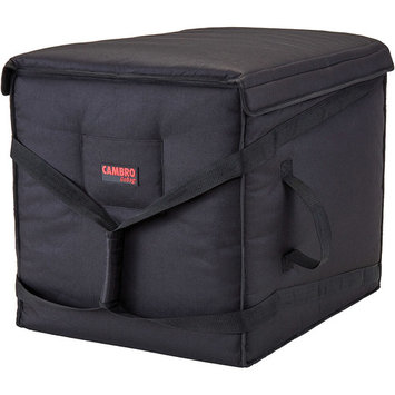 Cambro Polyester Insulated Pizza Bag, Food Delivery Bag Holds (10) 18