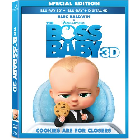 Boss Baby (3D + Blu-ray + Dvd + Digital), new