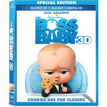 Boss Baby (3D + Blu-ray + Dvd + Digital), new