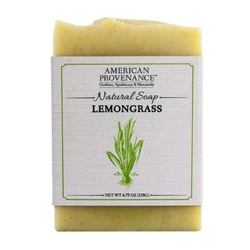 American Provenance 232445 4.75 oz Family Lemongrass Natural Bar Soap - 6 Bars
