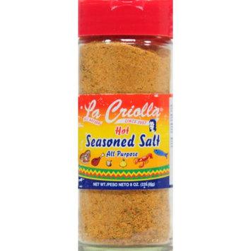 La Criolla Inc. La Criolla 1 Unit Of 8 Oz Season Salt Hot In Glass