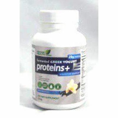 Fermented Greek Yogurt Proteins + Vanilla Single Serving Genuine Health 27.4 g Bottle