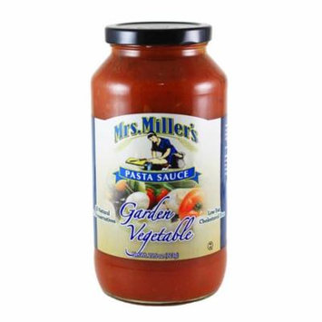 Mrs. Miller's Garden Vegetable Pasta Sauce 25.5 oz. (3 Jars)