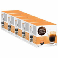 Nescafé Dolce Gusto Caffe Lungo mild, Pack of 5, 5 x 16 Capsules