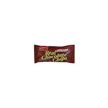 Lieber's Semi Sweet Real Chocolate Chips 9 Oz. Pack Of 12.