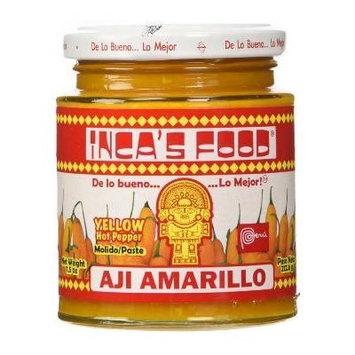Aji Amarillo Pasta - Peruvian Hot Yellow Pepper Paste - Inca's Food 15.7oz 5 Pack