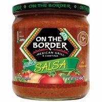 On The Border Mexican Grill & Cantina Mild Salsa, 16 oz