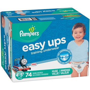 Pampers Easy Ups Training Underwear Boys Size 4T-5T, 74 Pants