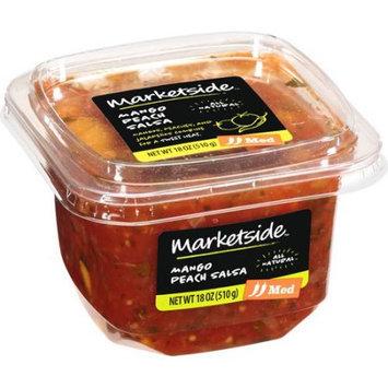 Manufactured For Marketside, A Division Of Walmart Stores, Inc. Marketside Mango Peach Medium Salsa, 18 oz