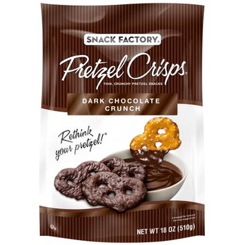 Snack Factory Chocolate Pretzel Crisp - 18 oz.