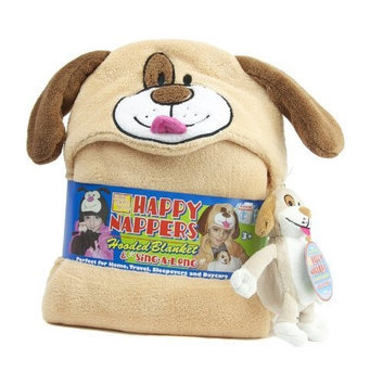 Happy Nappers Hooded Blanket and SingaLong Puppy