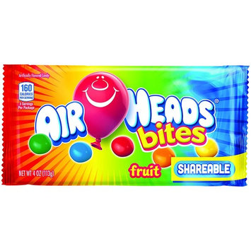 Airheads Bites Candy Bag, Fruit, Party, Non Melting, 4 Ounce (Bulk Pack of 18)