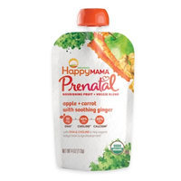 Happy Mama® Prenatal 4 oz. Apple and Carrot With Soothing Ginger Fruit And Veggie Blend