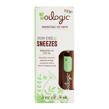 Oilogic Itchy Eyes & Sneezes Essential Oil Roll-on - 0.30 oz (9 ml)