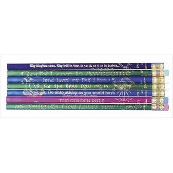 Swanson Christian Supply 60485 Pencil Assorted Christian Wordings