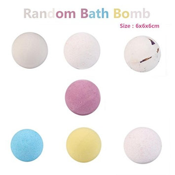 Bath Bombs, Lotus.flower Handmade Organic Bath Sea Salts Made Fizzies Body Scrub Dry Skin Moisturize - Perfect for Bubble & Spa Bath
