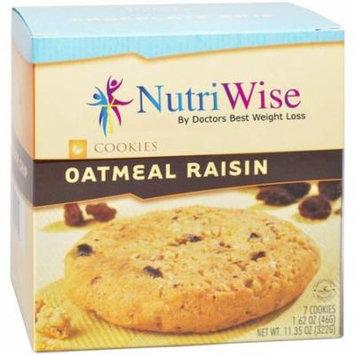 High Protein Diet - Oatmeal Raisin Cookie (7 Servings/Box) - NutriWise