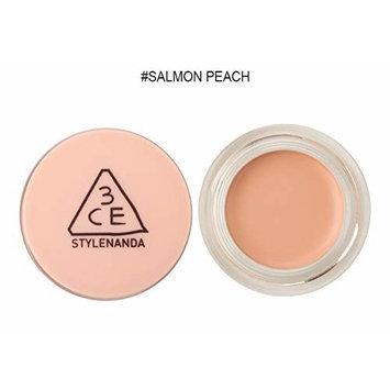 3CE Cover Pot Concealer (6g 0.21 oz) Long Lasting Concealer (Salmon Peach)