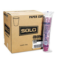 SOLO Cup Company Hot Cups, Symphony Design, 12 oz, Beige