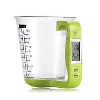 Source Force Digital Scale with Measuring Cup - Green