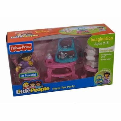 Fisher-Price World of Little People Sonya Lee and Her Royal Tea Party