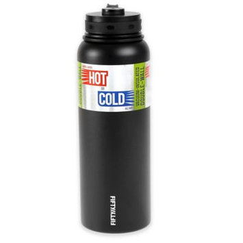Fifty Fifty Fifty/Fifty Vacuum-Insulated Bottle - 40oz - Matte Black