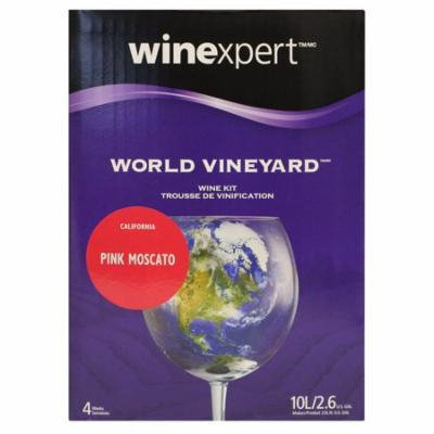 World Vineyard Pink Moscato From California - Limited Release